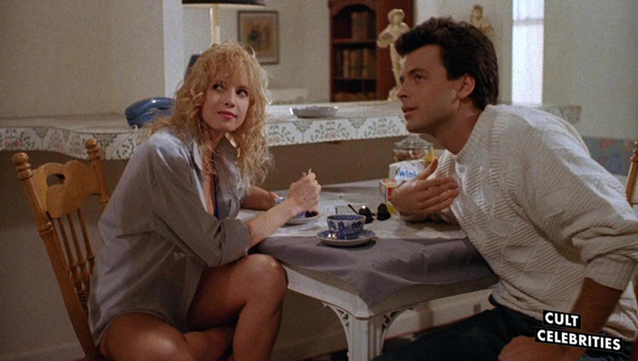 Traci Lords and Roger Lodge in Not of This Earth (1988)
