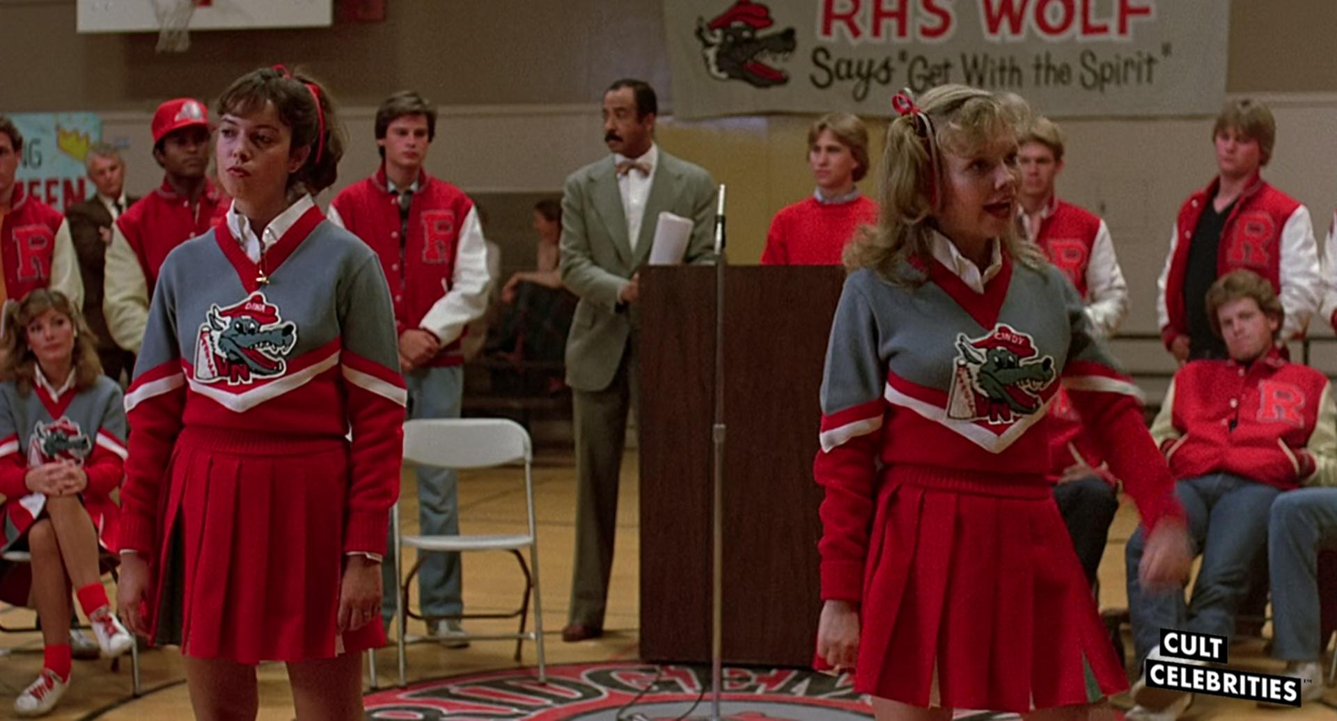 Pamela Springsteen and Kelli Maroney in Fast Times at Ridgemont High (1982)