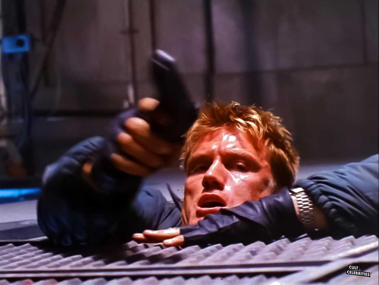 Dolph Lundgren in Silent Trigger (1996)