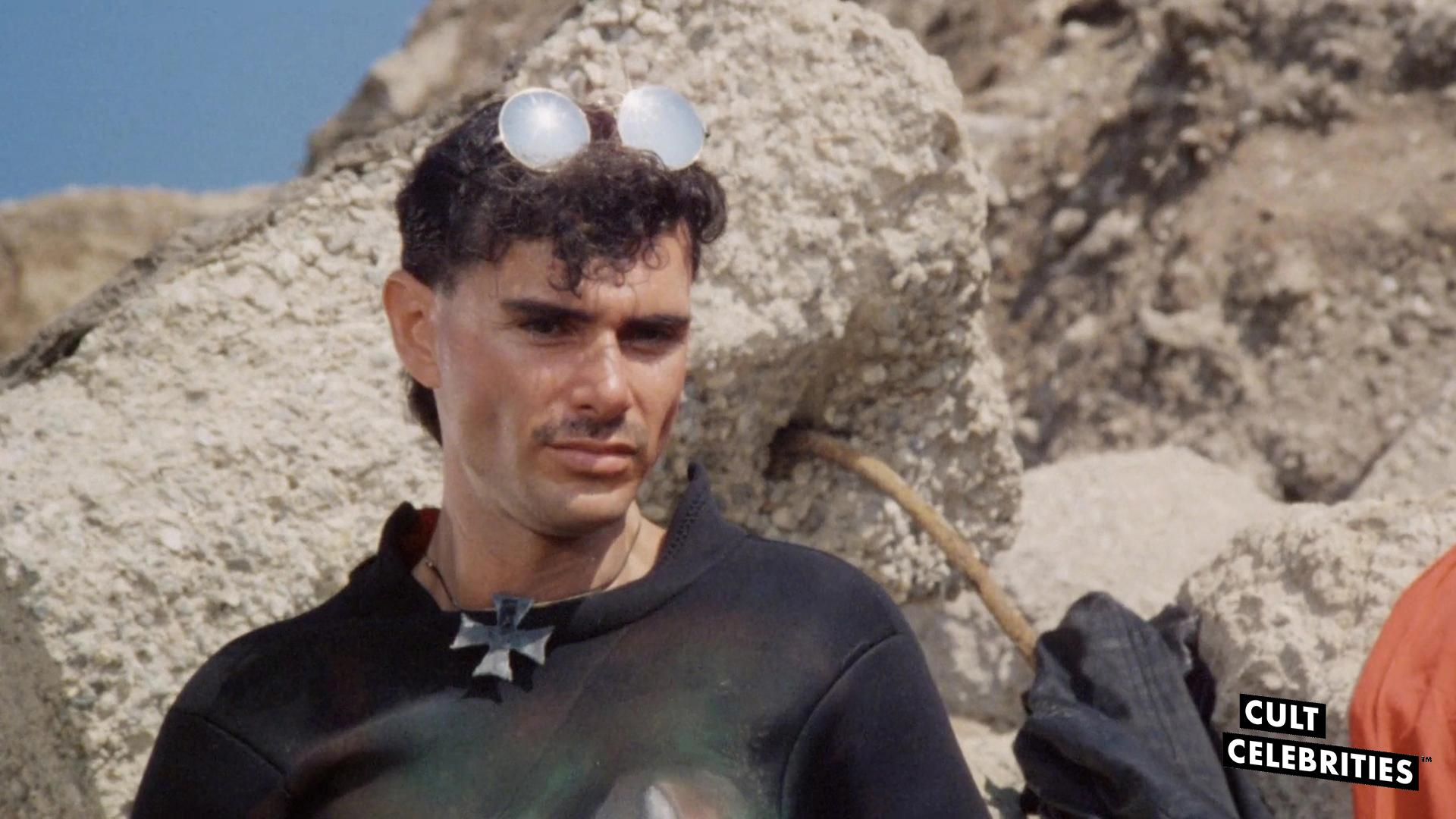 Joel Hile as Hook in Surf Nazis Must Die (1987)