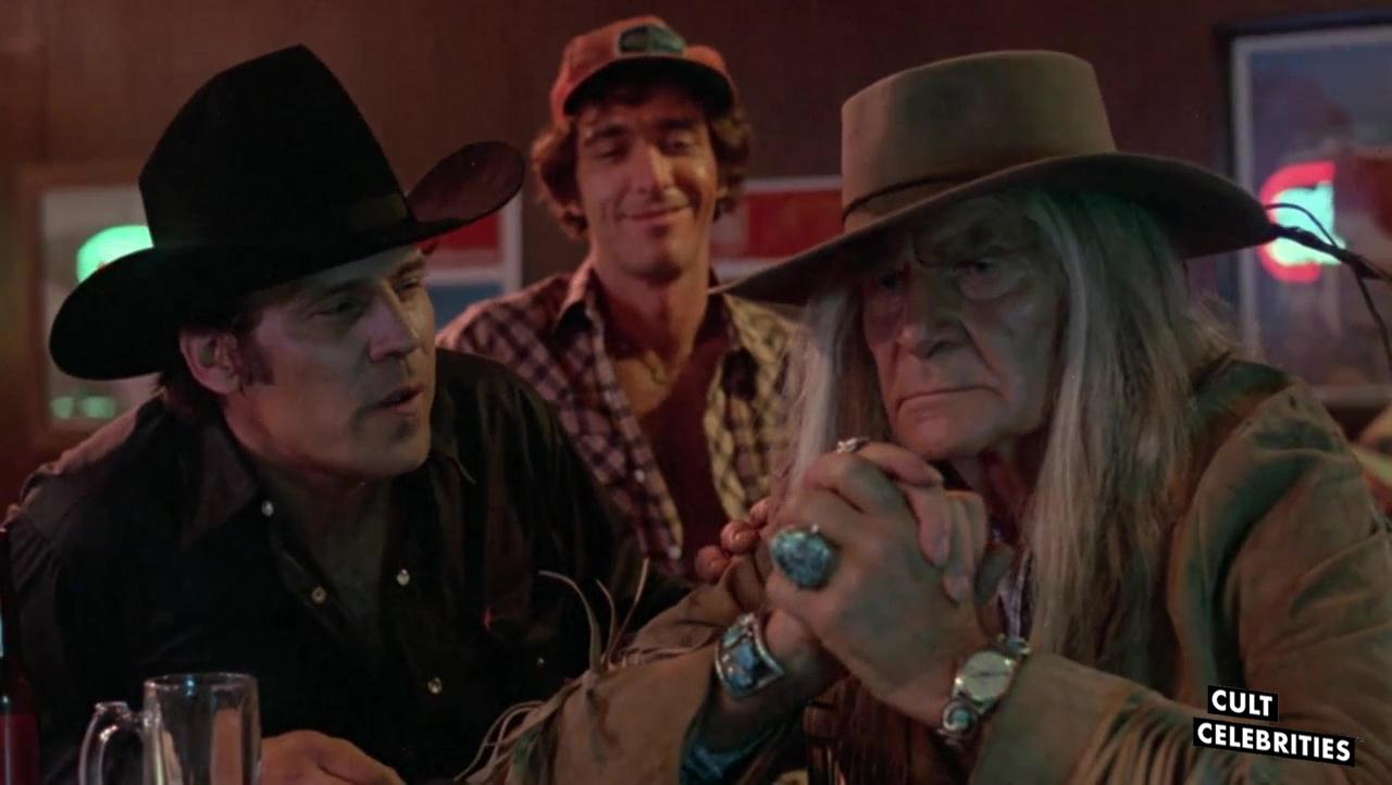 Logan Clarke, Don Stroud, and Henry Wilcoxon in Sweet Sixteen (1983)