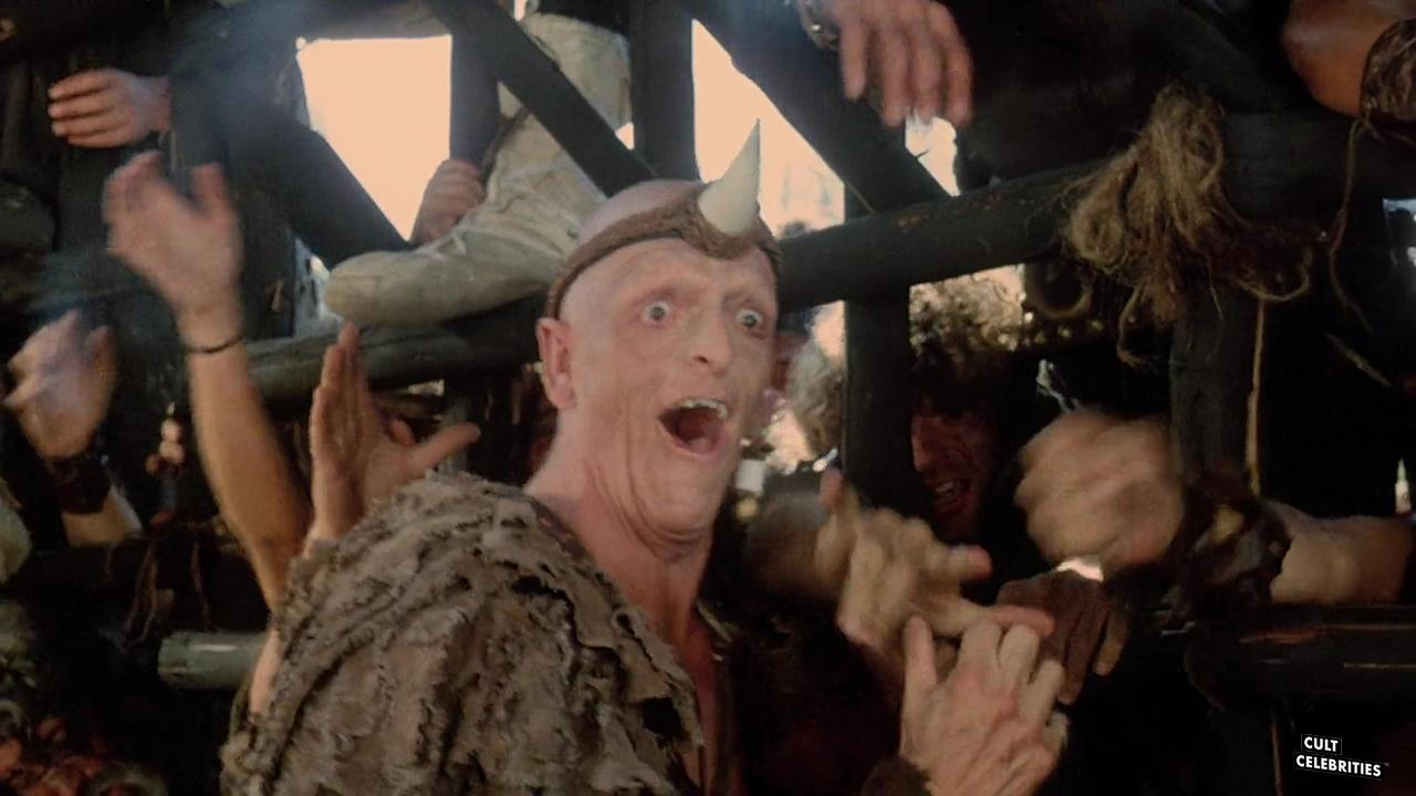 Michael Berryman in The Barbarians (1987)