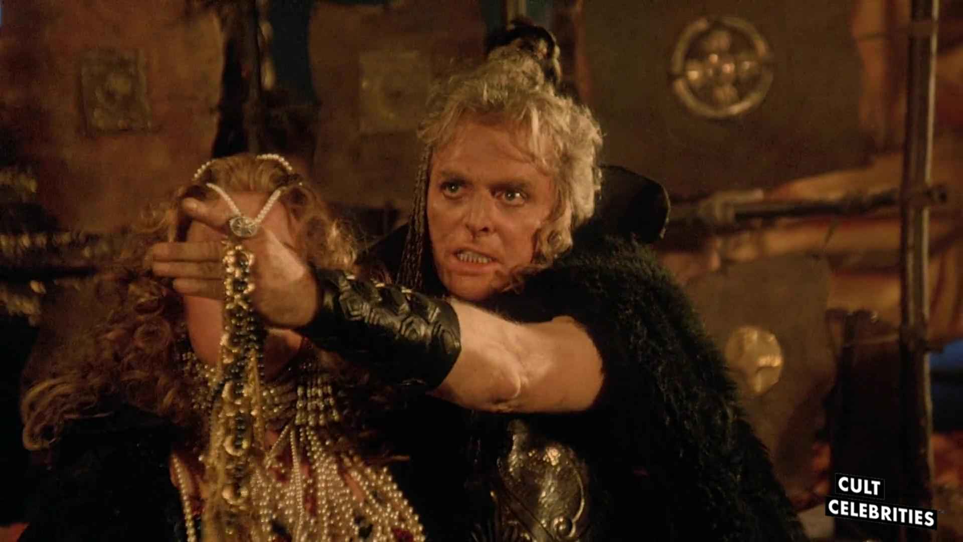 Richard Lynch in the 1987 sword-and-sorcery film The Barbarians.