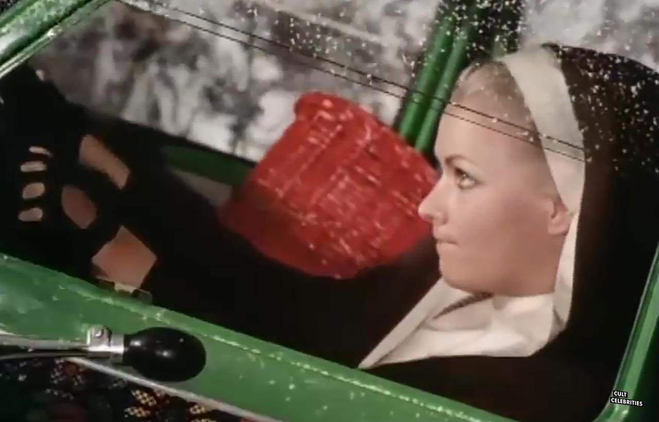 Evelyne Kraft in The Craziest Car in the World (1975)