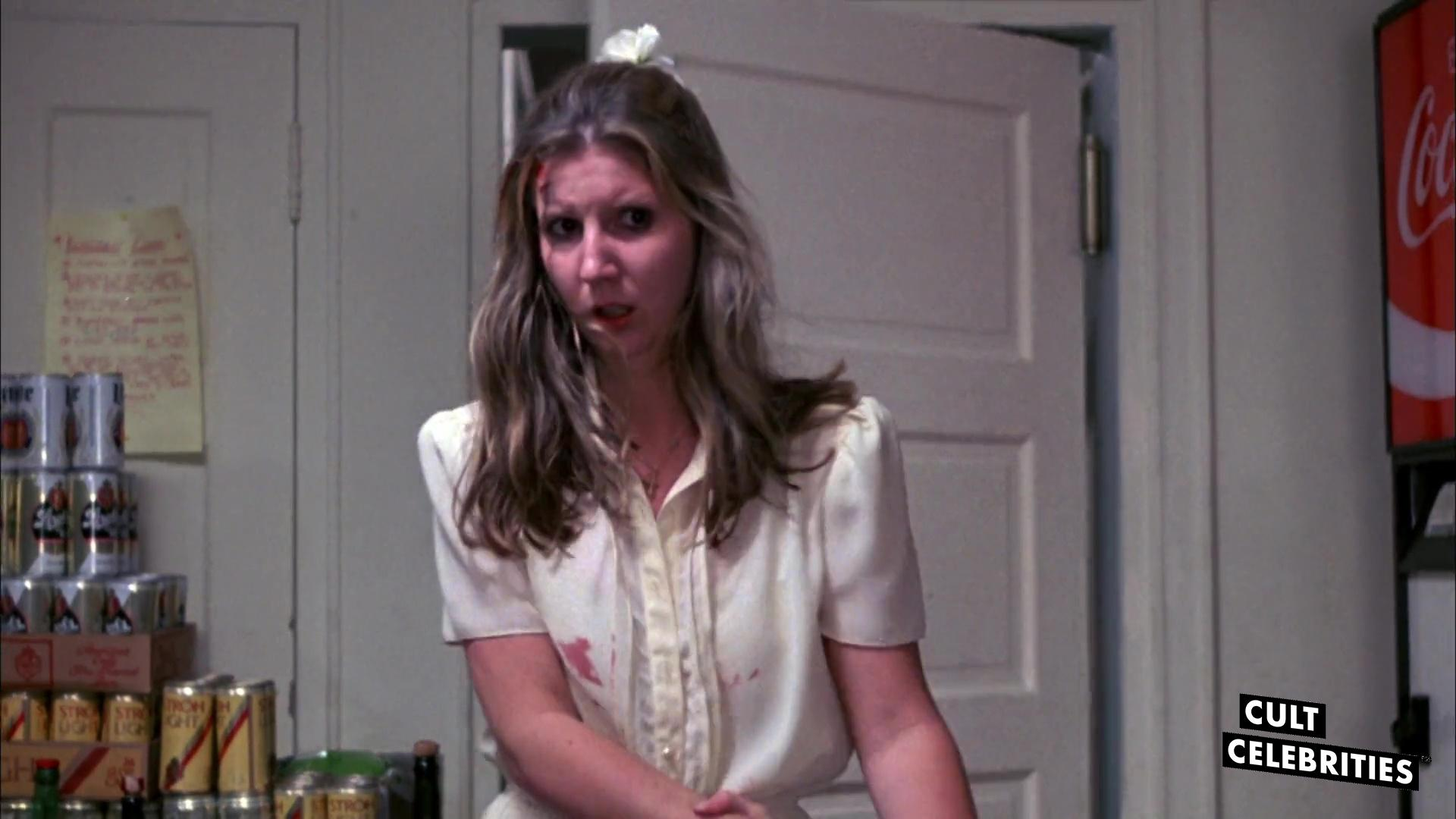 Robin Meloy in The House on Sorority Row (1983)