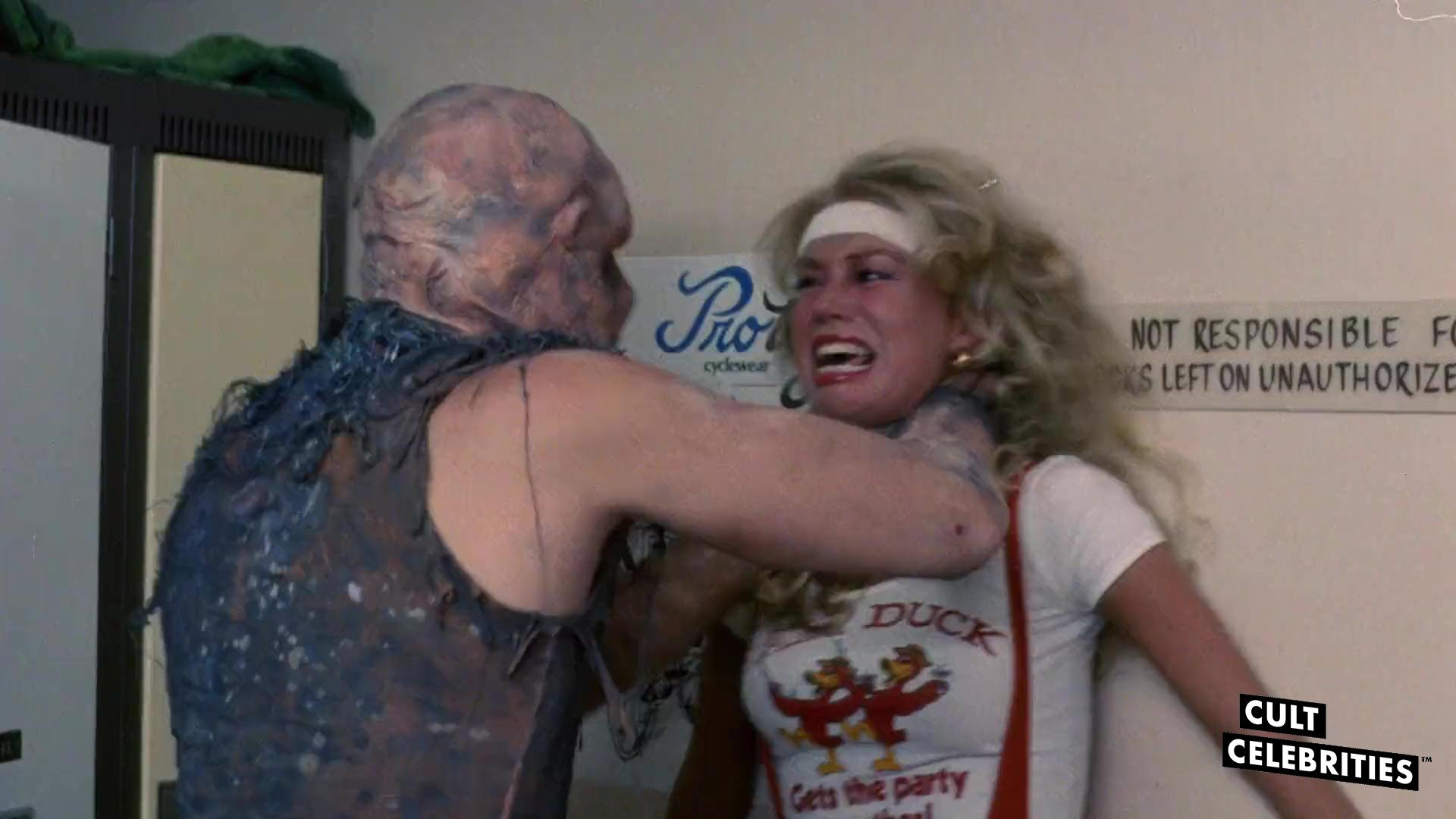 Cindy Manion and Mitch Cohen in The Toxic Avenger (1984)