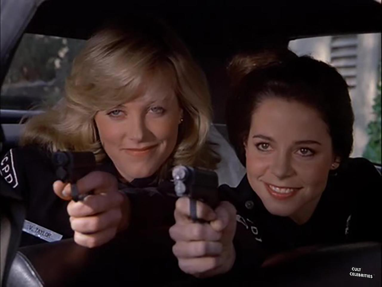 Debra Blee and April Clough in T.J. Hooker (1982)