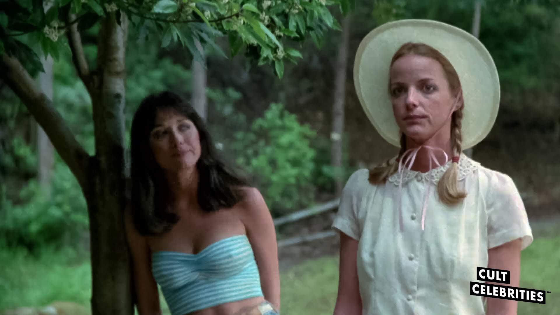 Jocelyn Jones and Tanya Roberts in Tourist Trap (1979)