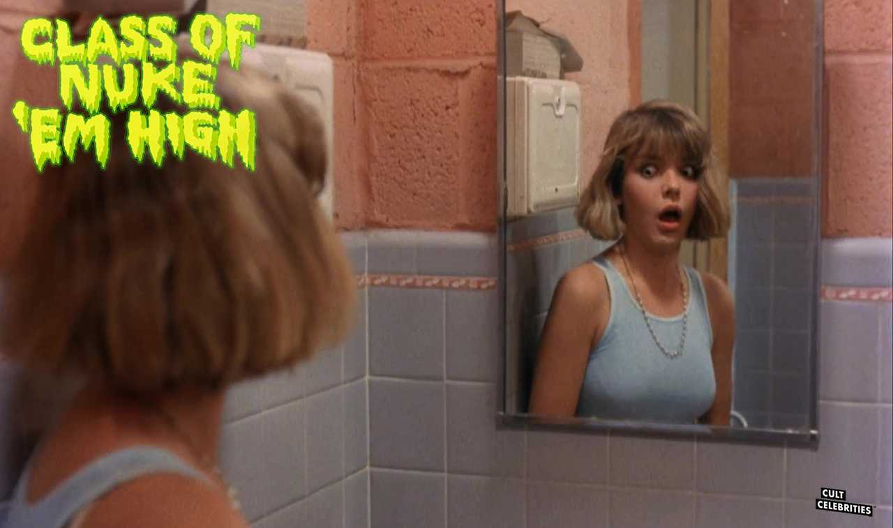 Janelle Brady in Class of Nuke 'Em High (1986)