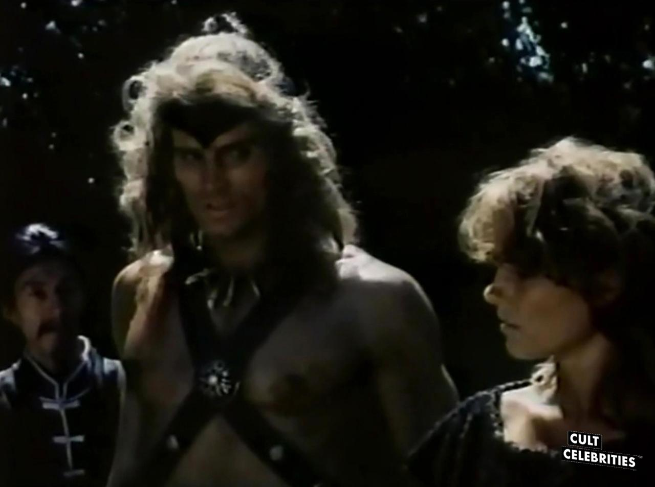 Miles O'Keeffe in the 1984 Italian sword & sorcery film The Blade Master