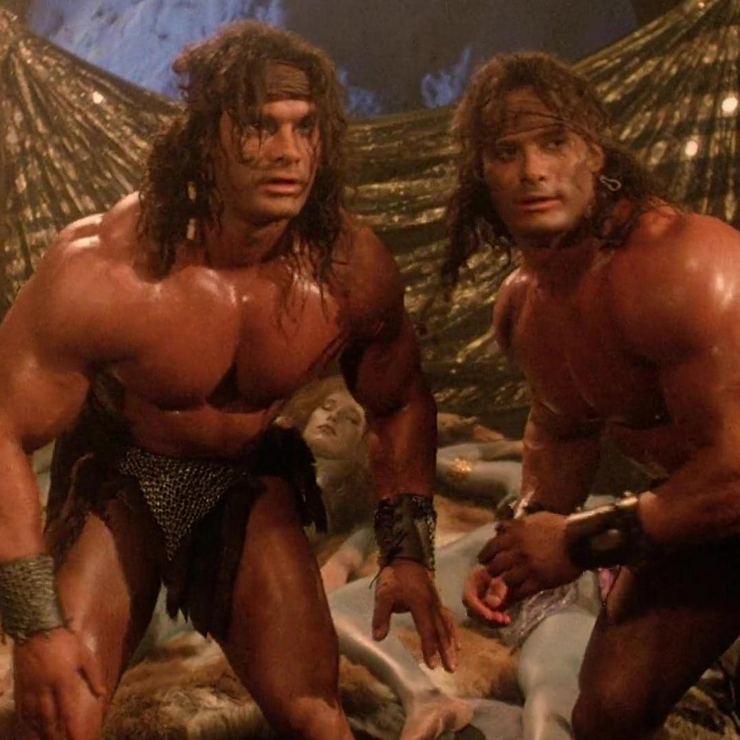 David Paul and Peter Paul in The Barbarians (1987)