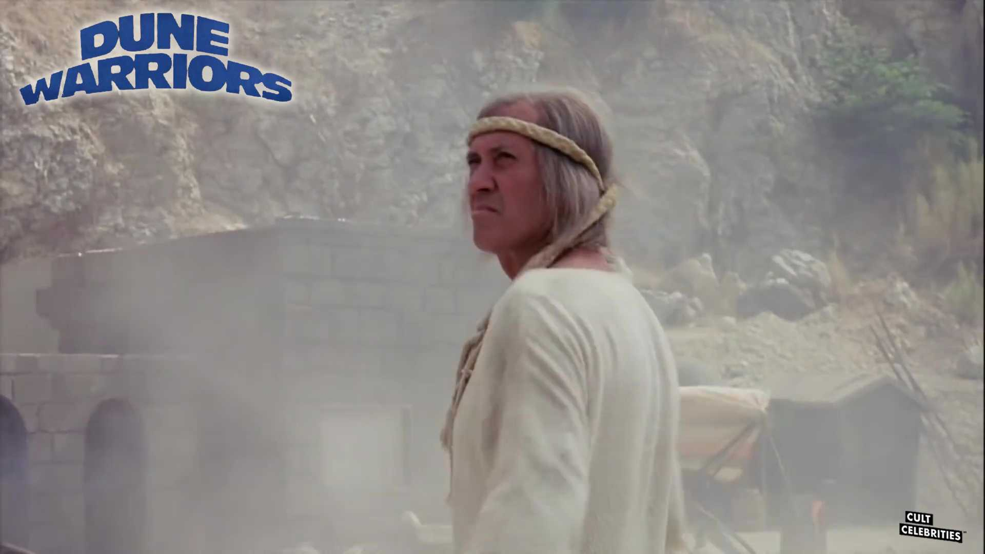 David Carradine in Dune Warriors (1990)