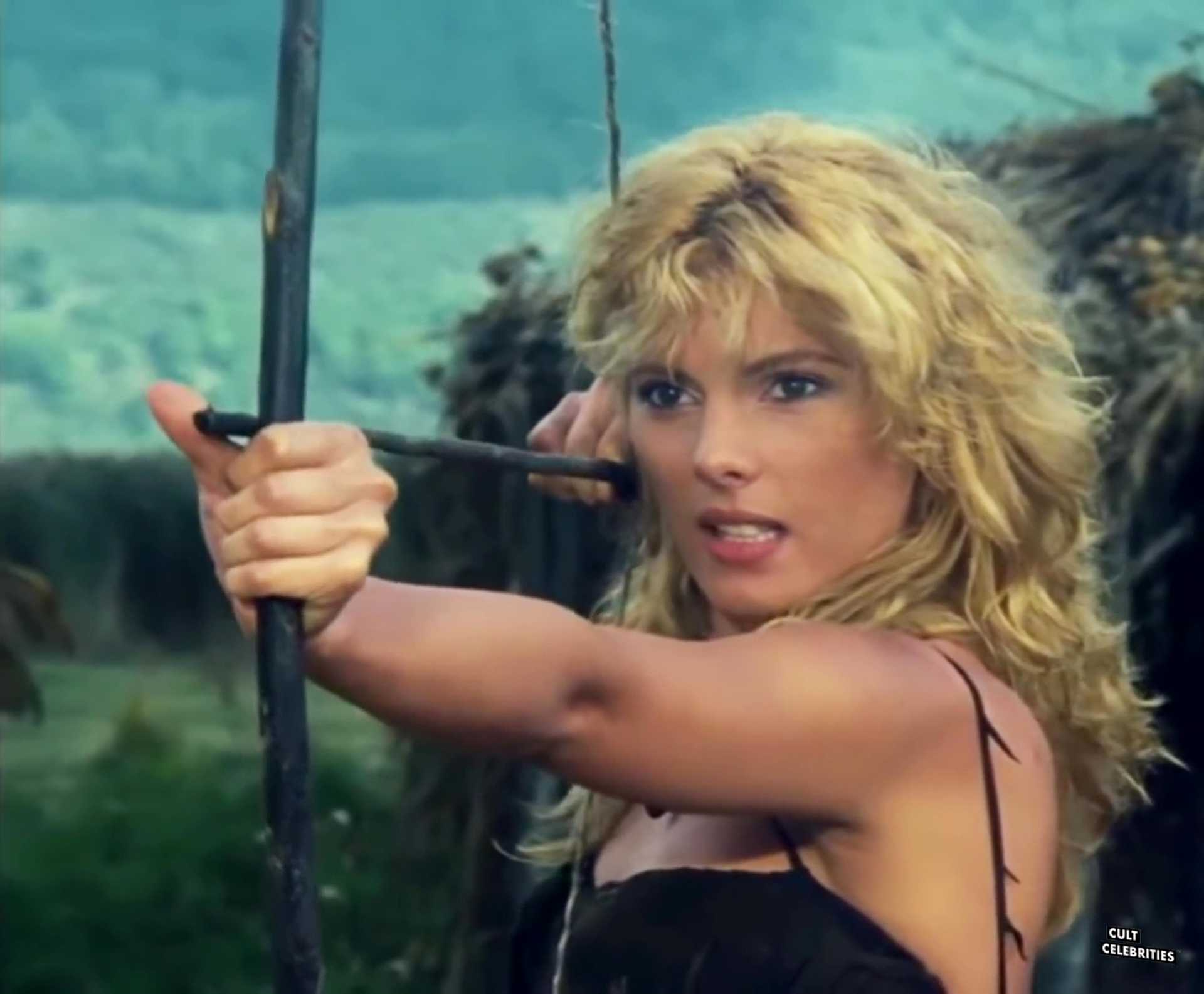Elvire Audray in the 1983 Italian sword & sorcery film Ironmaster