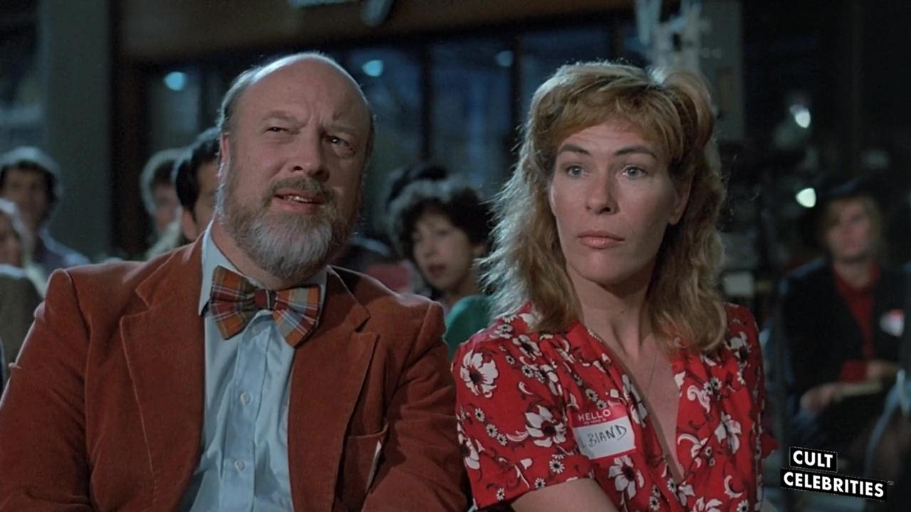 Mary Woronov and Paul Bartel in Chopping Mall (1986)