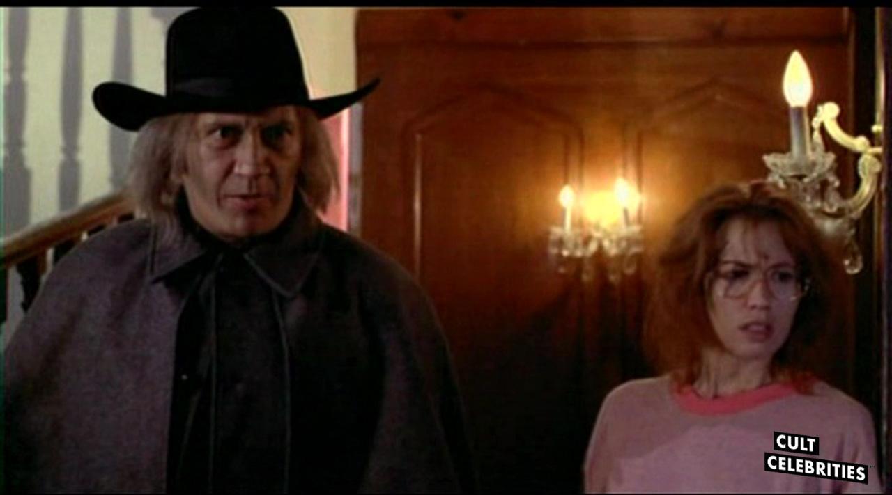 David Carradine and Monique Gabrielle in Scream Queen Hot Tub Party (1991)