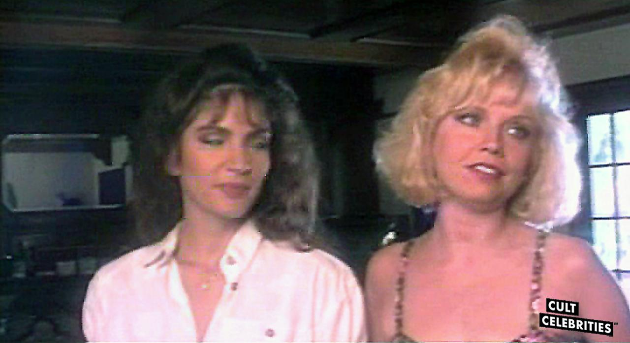 Brinke Stevens and Kelli Maroney in Scream Queen Hot Tub Party (1991)