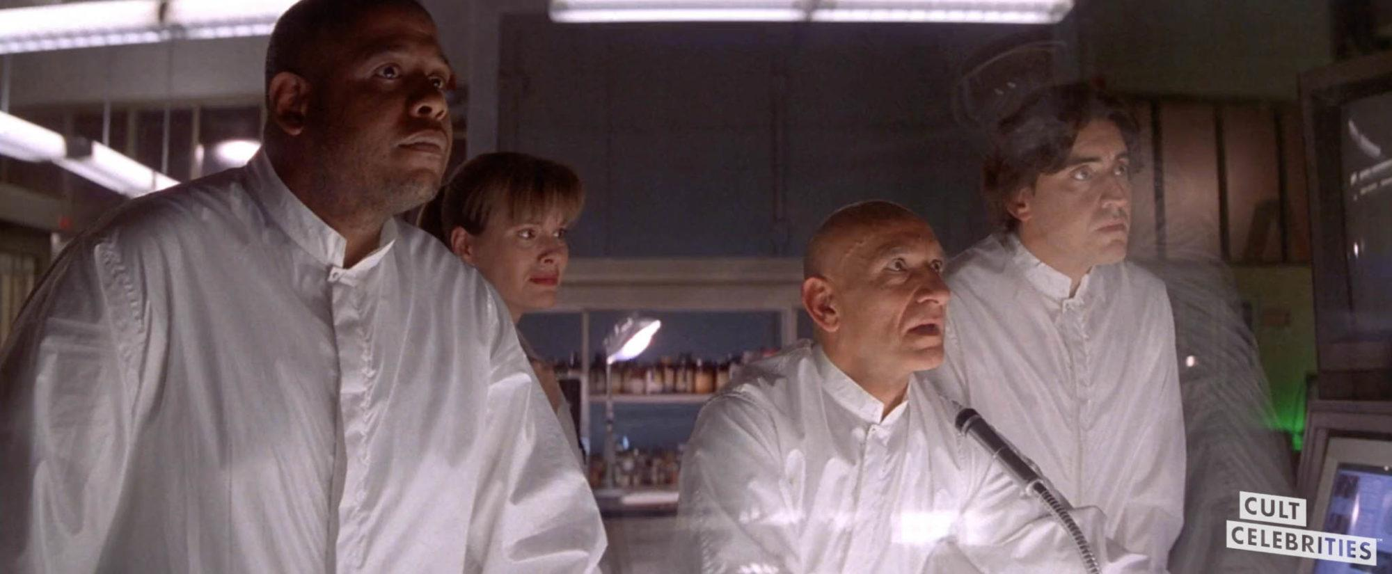 Ben Kingsley, Forest Whitaker and Alfred Molina in Species (1995)