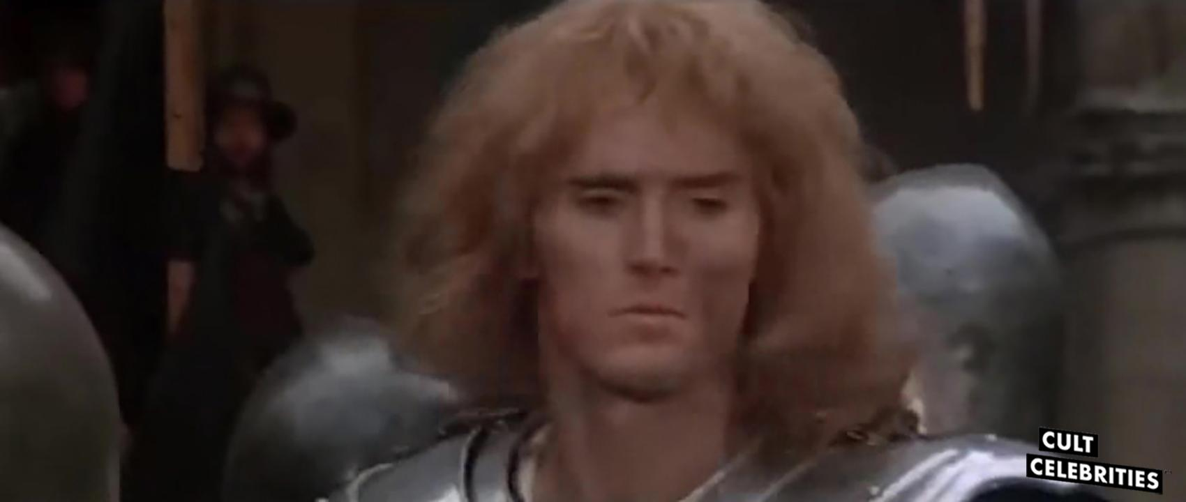 Miles O'Keeffe in Sword of the Valiant (1984)
