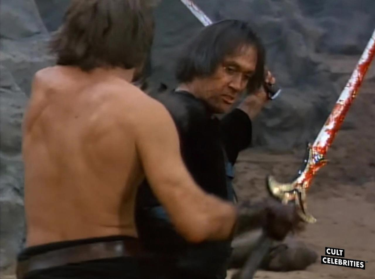 David Carradine in The Warrior and the Sorceress (1984)