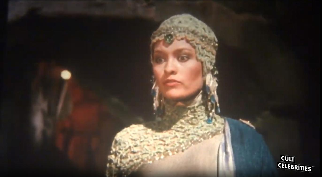 Barbara Stock in Wizards of the Lost Kingdom (1985)