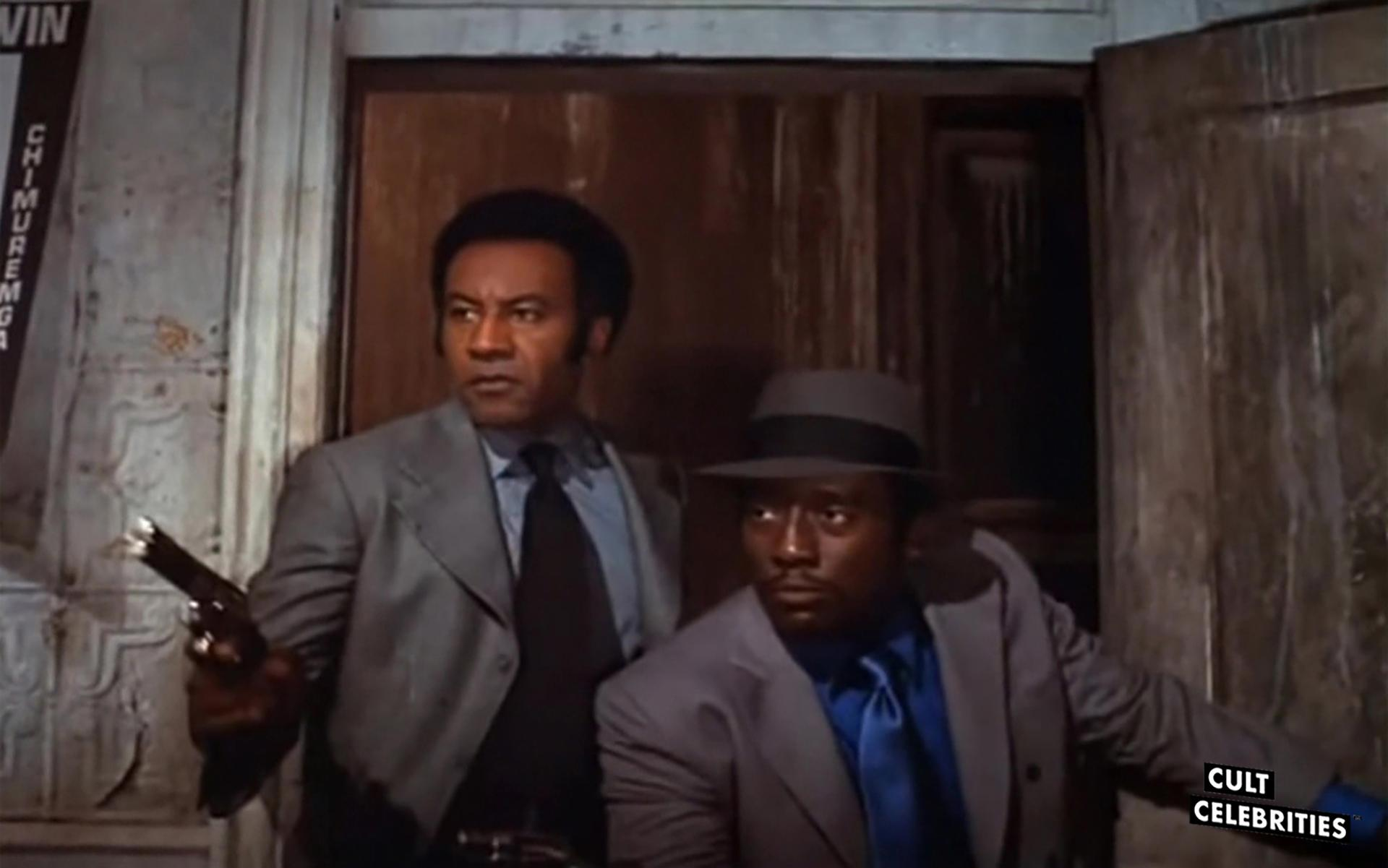 Raymond St. Jacques and Godfrey Cambridge in Cotton Comes To Harlem (1970)