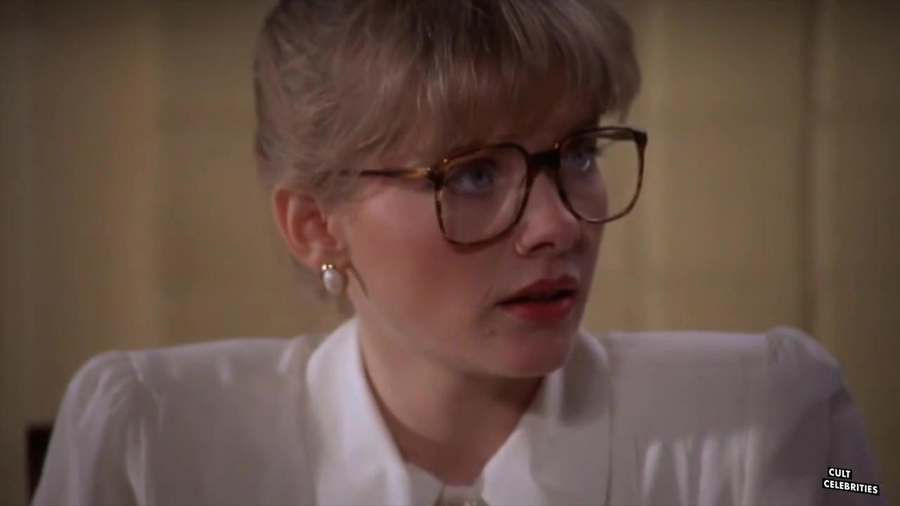 Barbara Crampton in From Beyond (1986) as Dr. Katherine McMichaels