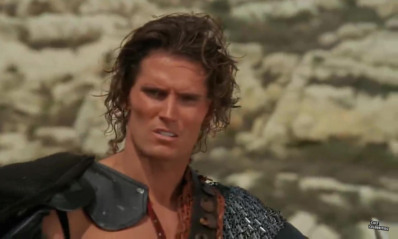 Miles O'Keeffe in Iron Warrior (1987)