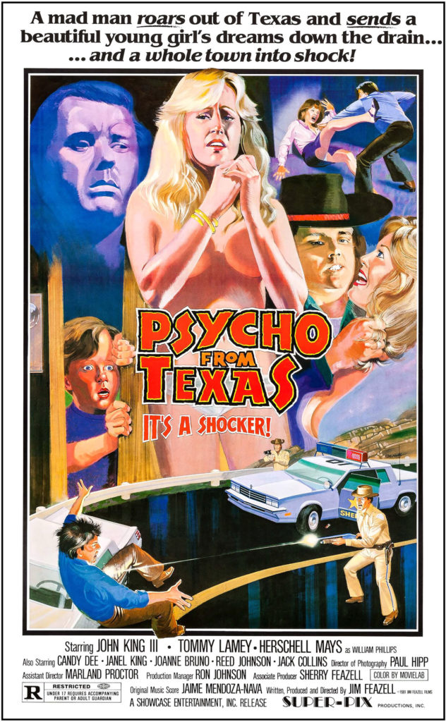 Psycho From Texas (1975) poster
