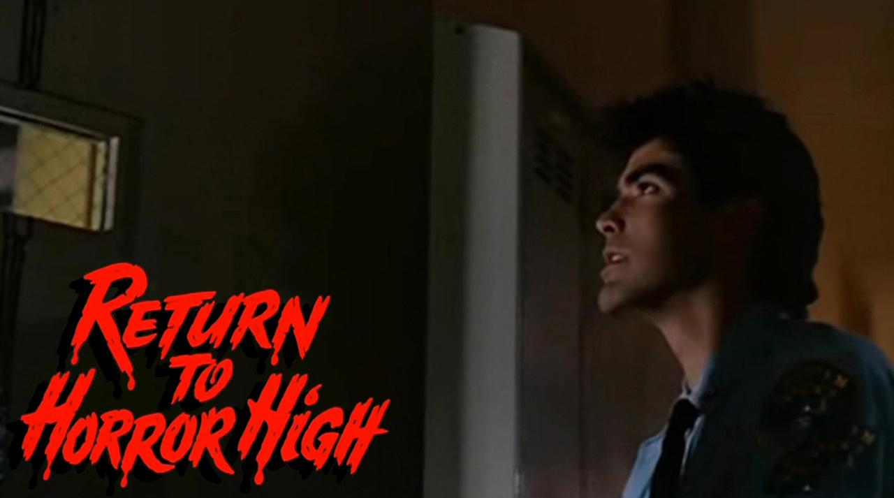 George Clooney in Return to Horror High (1987)