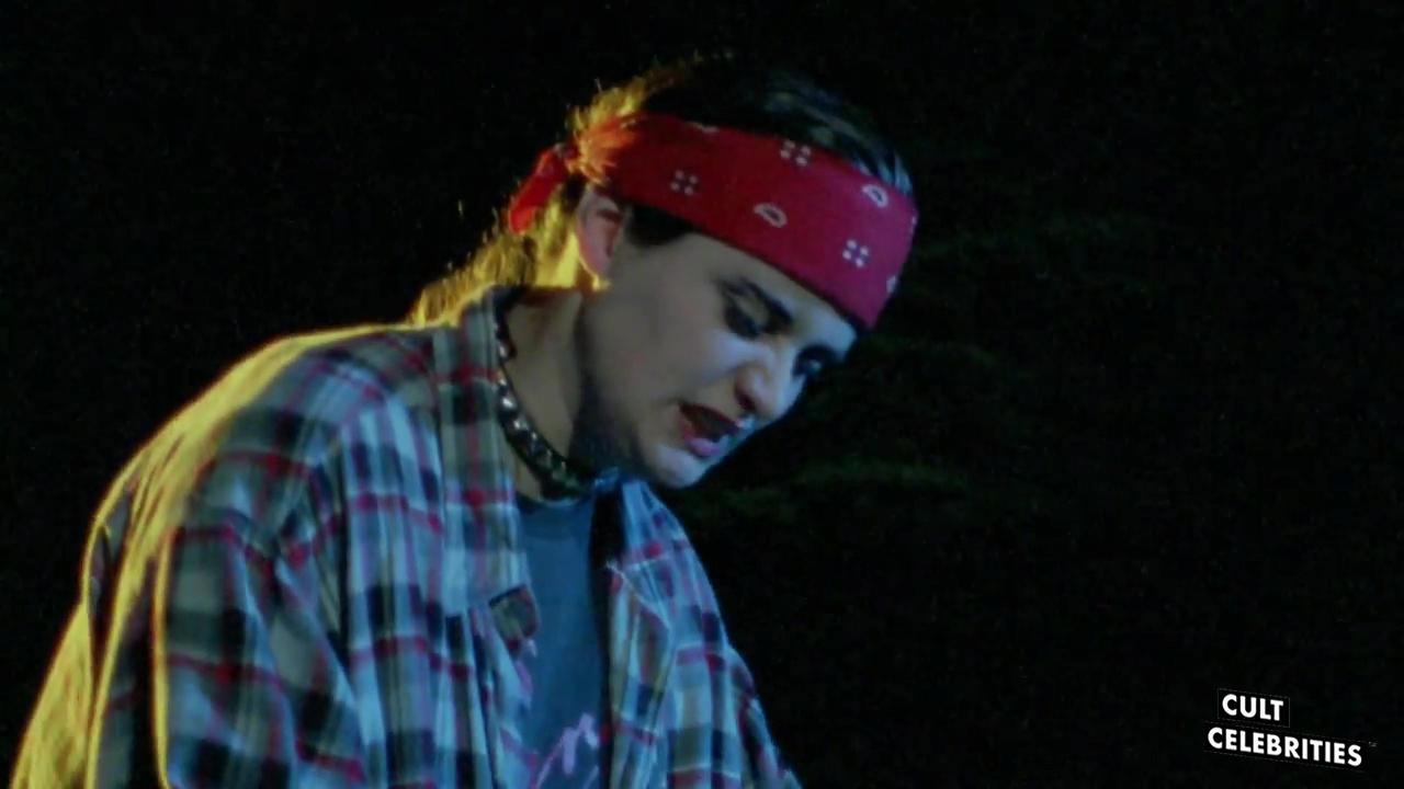 Maria Markovic as Gody Sanchez in Robot Ninja (1989)