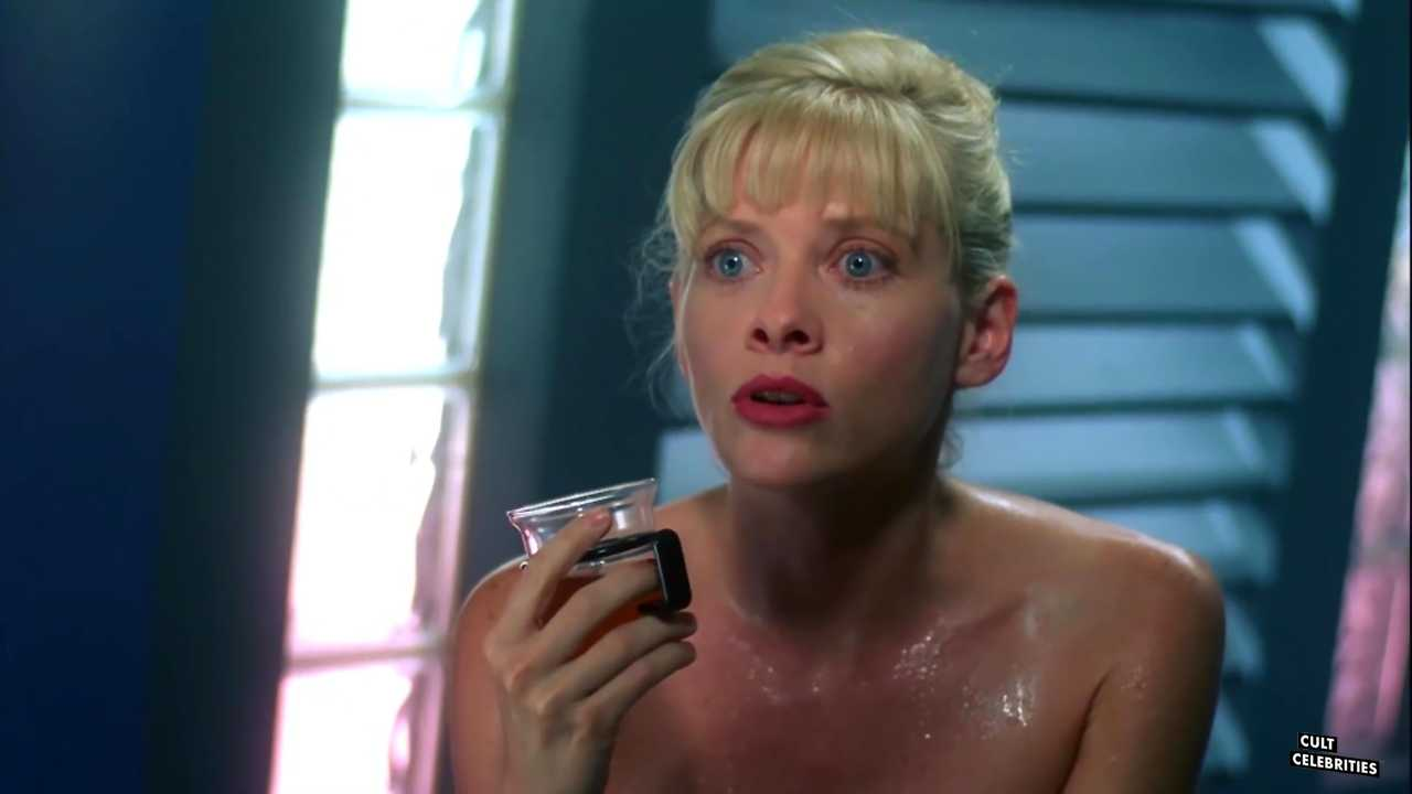 Barbara Crampton in Robot Wars (1993)