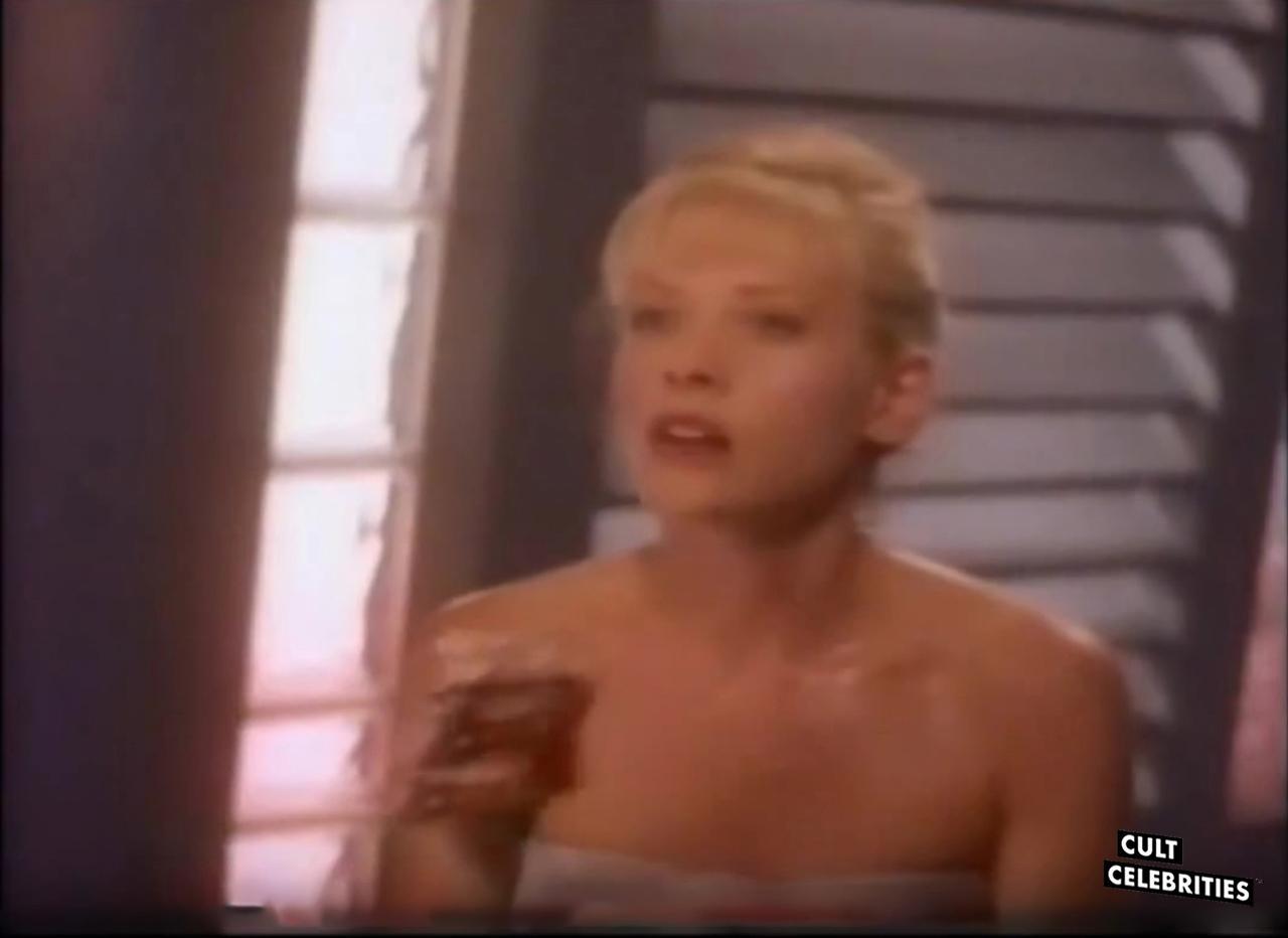 Barbara Crampton in Robot Wars (1993)
