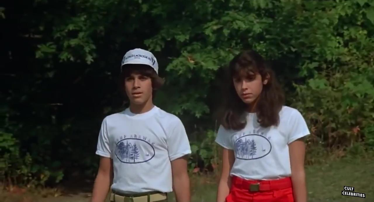 Felissa Rose and Jonathan Tiersten in Sleepaway Camp (1983)