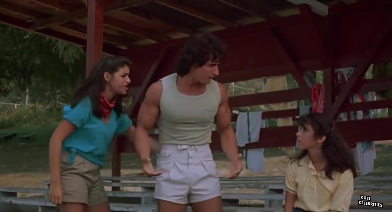 Felissa Rose, Katherine Kamhi and Paul DeAngelo in Sleepaway Camp (1983)