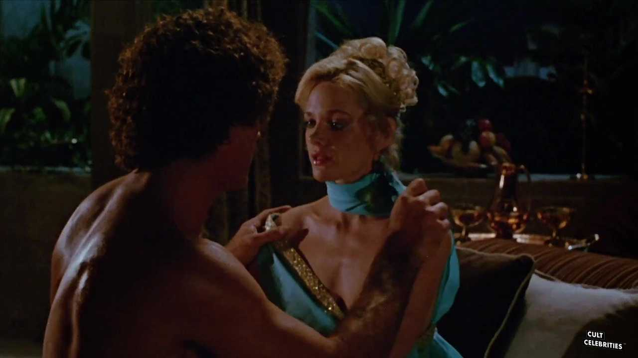Roberto Nelson and Lynette Harris in Sorceress (1982)