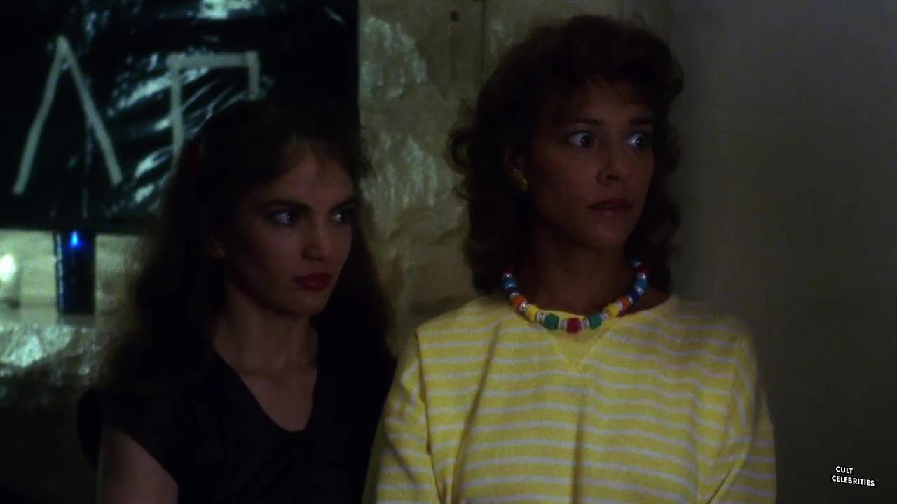 Brinke Stevens and Michelle Bauer in Sorority Babes in the Slimeball Bowl-O-Rama (1988)