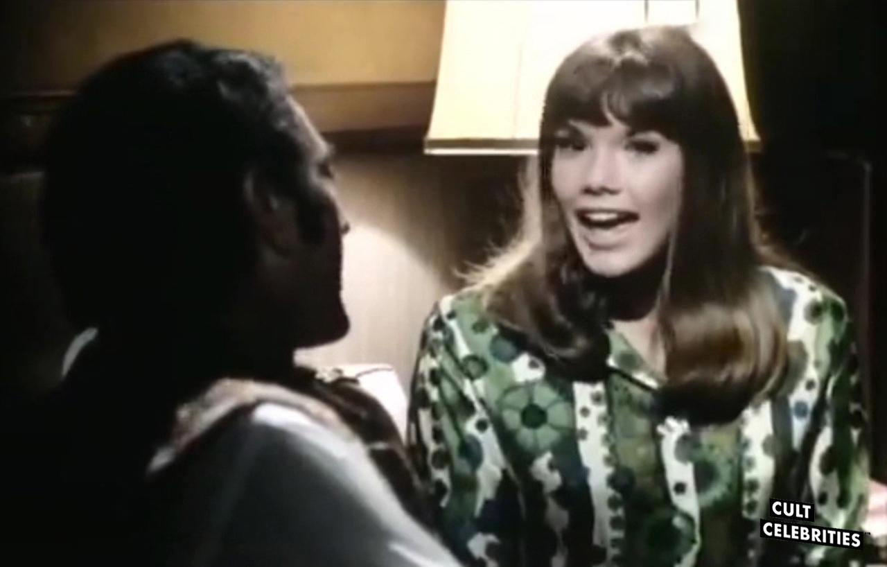 Barbi Benton in The Naughty Cheerleader (1970)