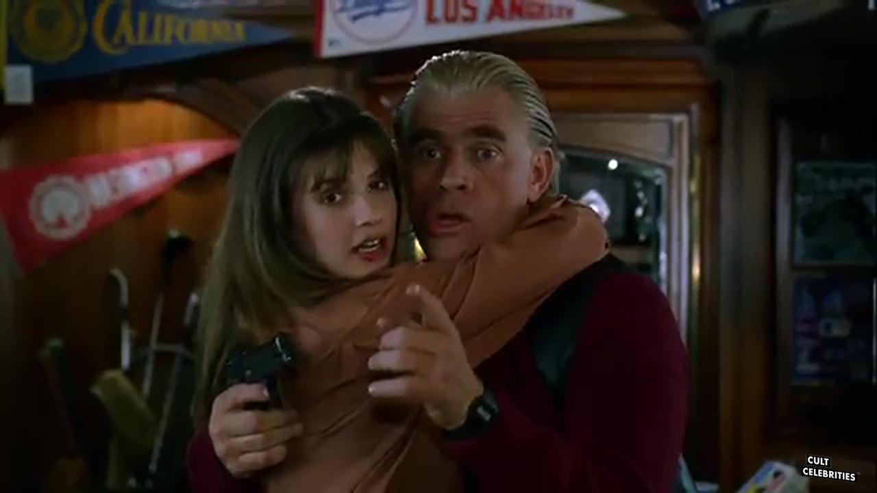 Megan Ward and Tim Thomerson in Trancers II (1991)
