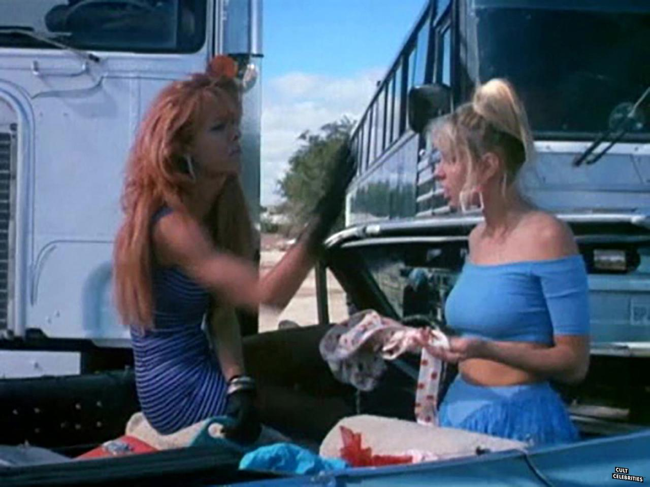 Elizabeth Kaitan and Christina Whitaker in Assault of the Killer Bimbos (1988)