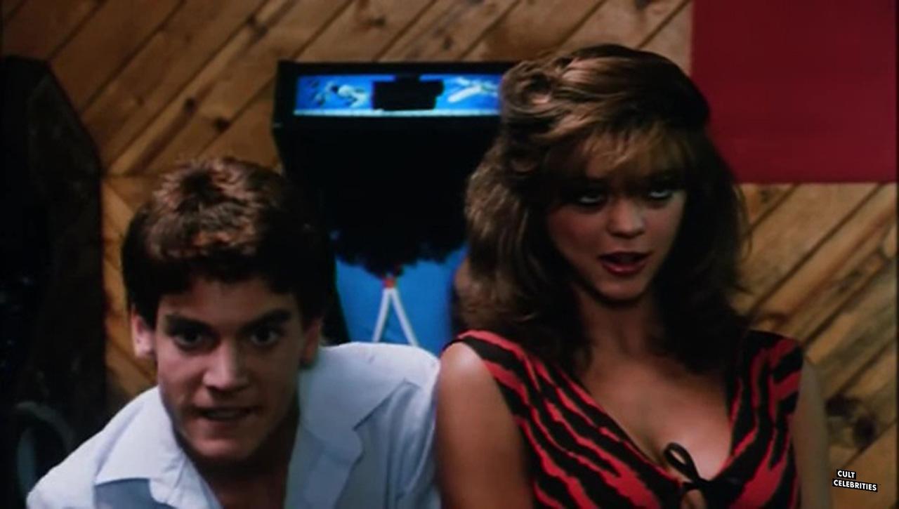 Deborah Richter in Hot Moves (1984)