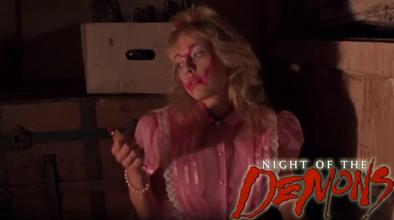 Linnea Quigley in Night of the Demons (1988)