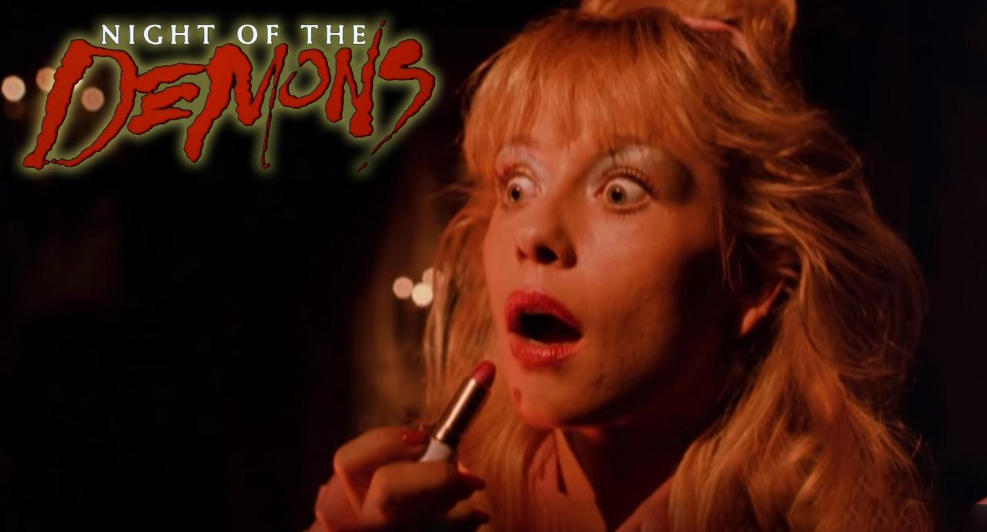 Linnea Quigley in Night of the Demons (1988)
