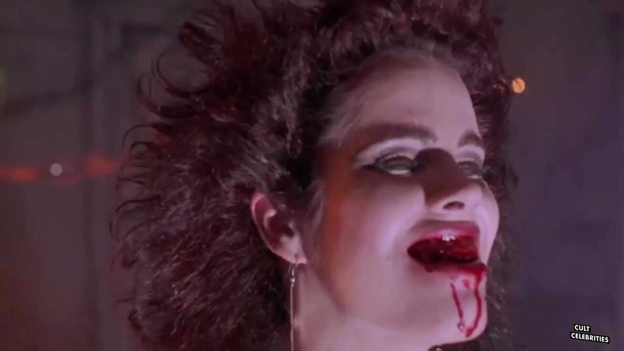 Amelia Kinkade in Night of the Demons (1988)