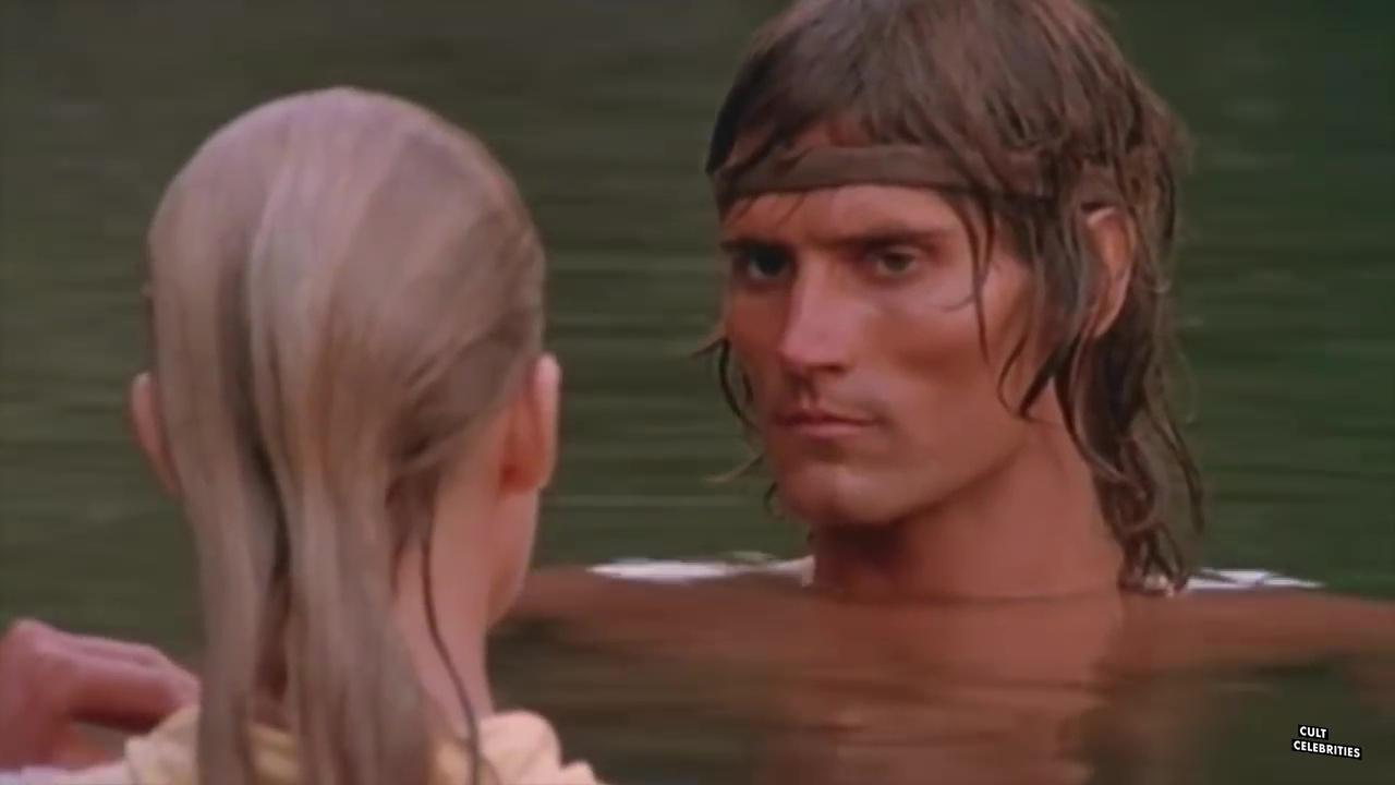 Miles O'Keeffe and Bo Derek in Tarzan the Ape Man (1981)