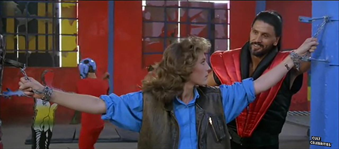 Stefania Girolami Goodwin and George Eastman in 1990: The Bronx Warriors (1982)