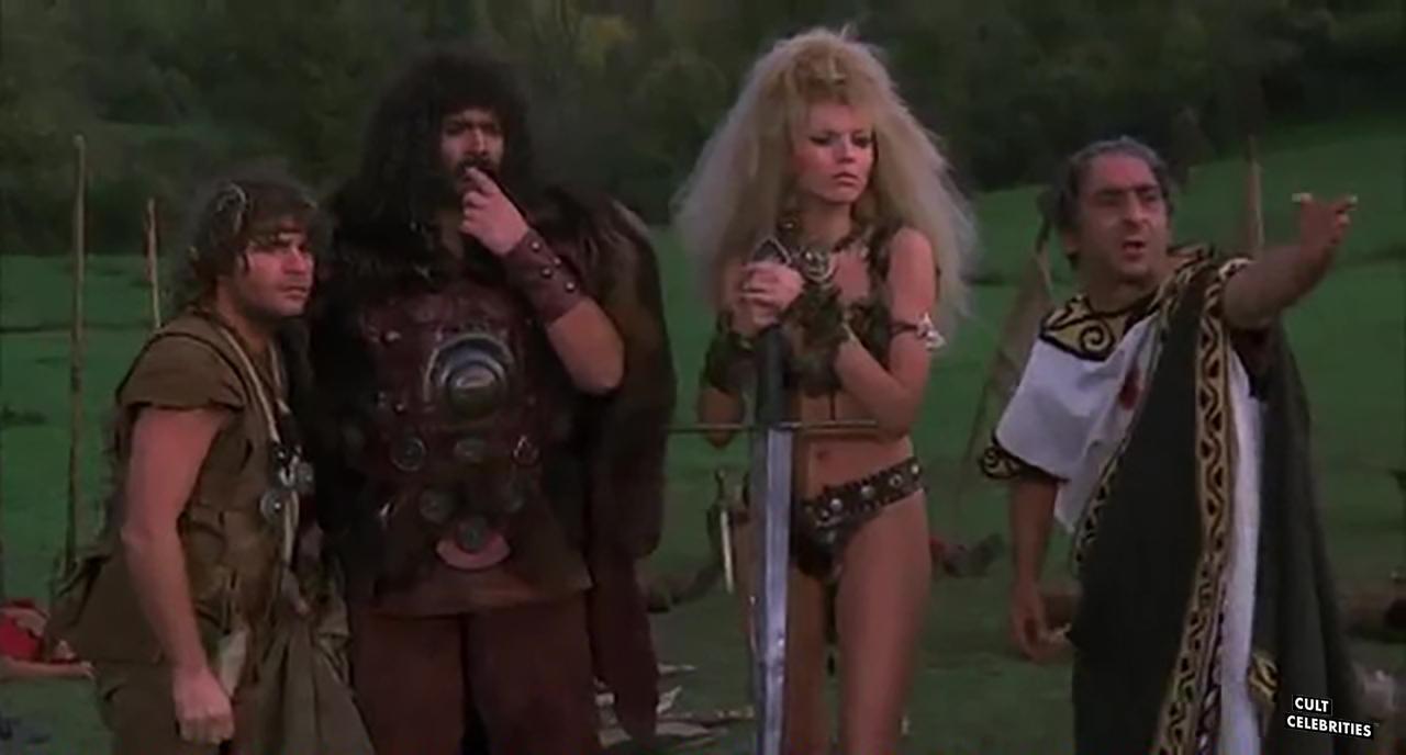 Anna Kanakis and Mario Pedone in Attila flagello di Dio (1982)