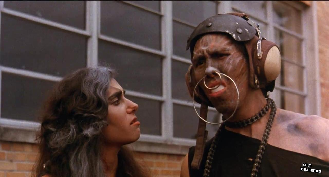 Théo Cohan and Brad Dunker in Class Of Nuke 'Em High (1986)
