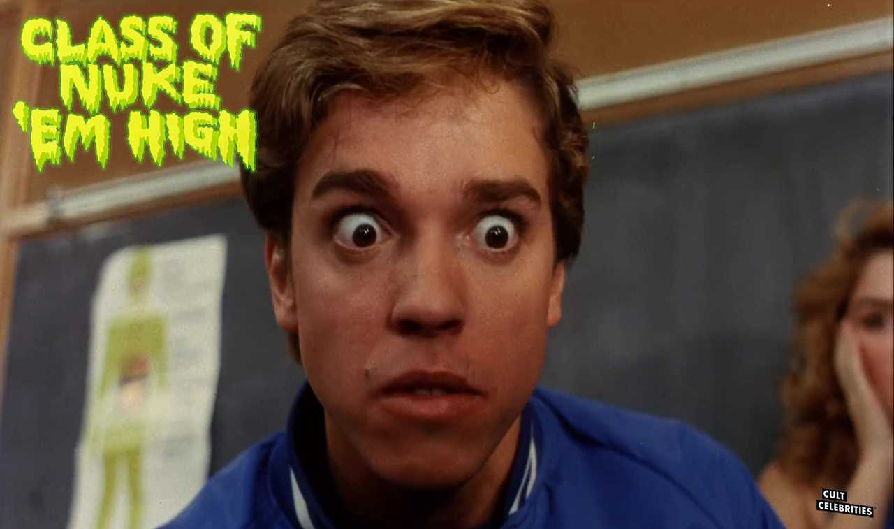 Gil Brenton in Class of Nuke 'Em High (1986)