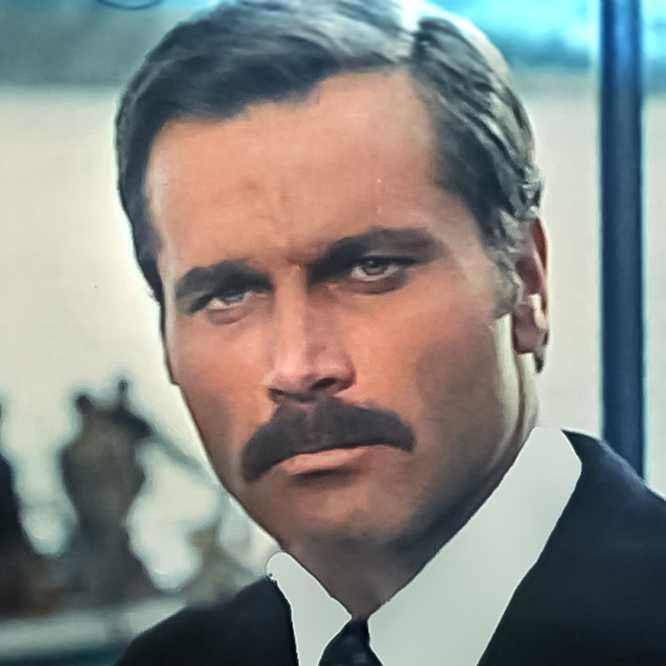 Franco Nero in Der Clan, der seine Feinde lebendig einmauert (1971)