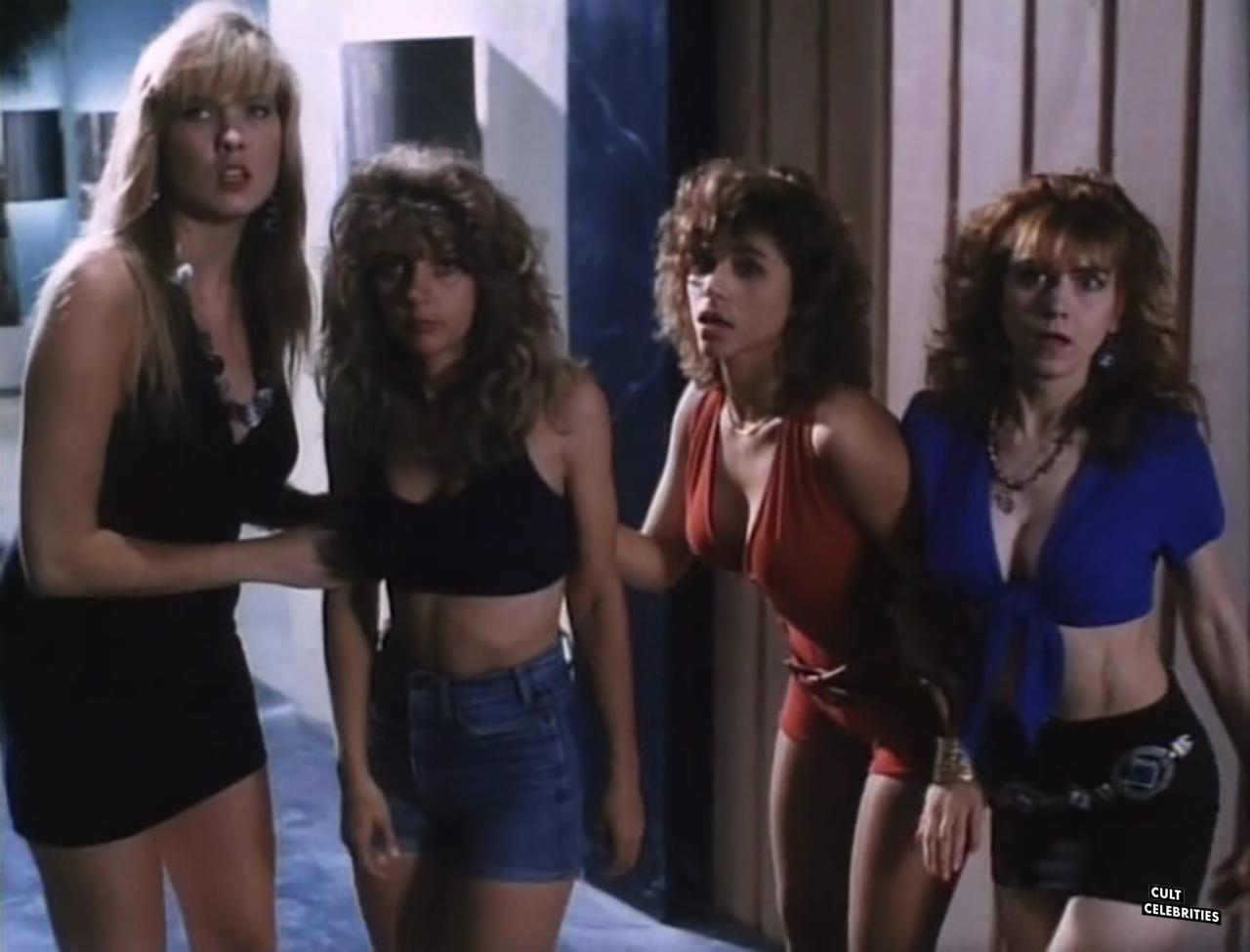 Melissa Moore, Gail Thackray and Deborah Dutch in Hard to Die (1990)